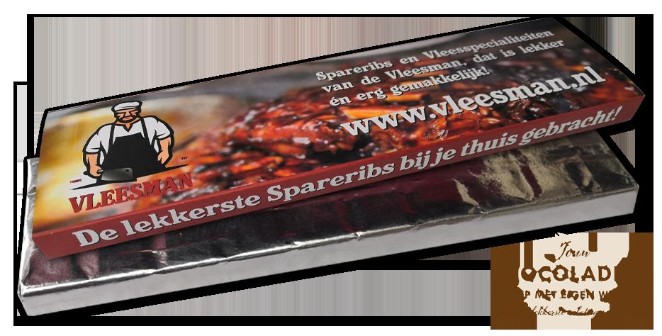chocolade-reep-eigen-wikkel-vleesman