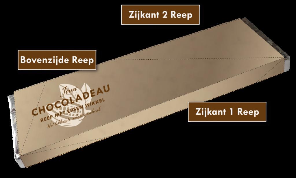 Plaatsing-druk-elementen-eigen-wikkel-chocolade-reep